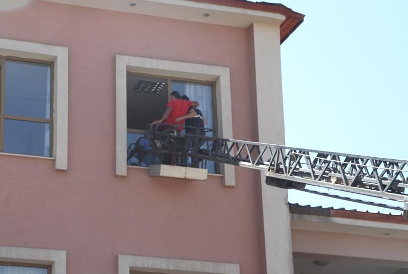 Hastanede Yangın Tatbikatı Düzenlendi