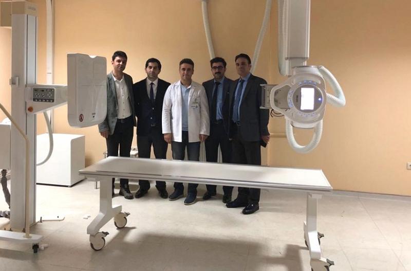 Hastaneye Dijital Röntgen Cihazı