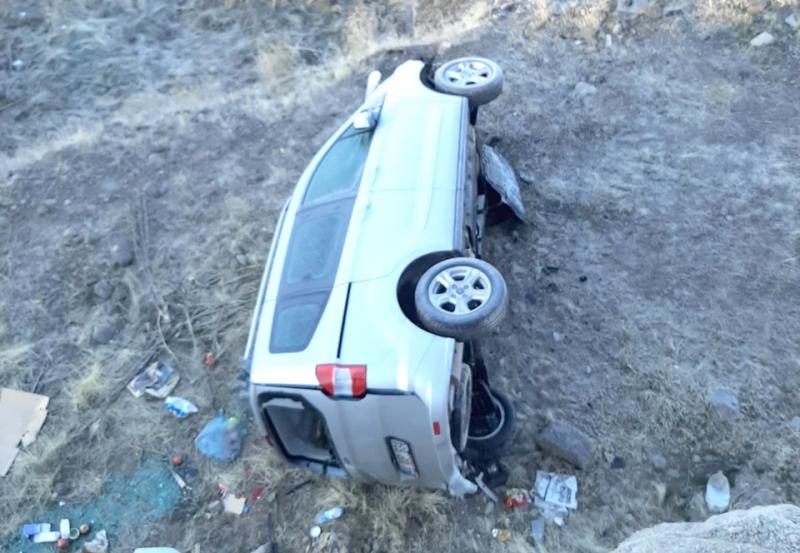 Hıraba Yolunda Kaza: 4 Yaralı