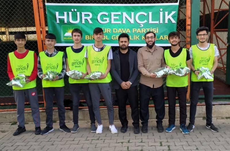 HÜDA PAR Gençlik Kollarından Futbol Turnuvası