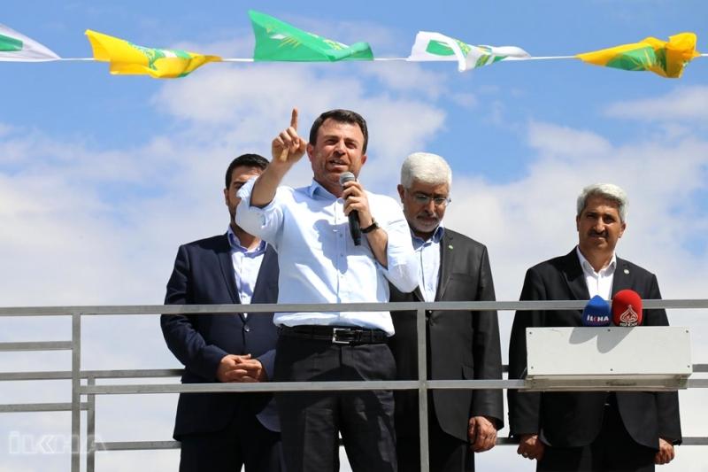 """Hüda Par Genel Başkanı Yavuz:""""KHK'lar Mağdur Ediyor"""""""
