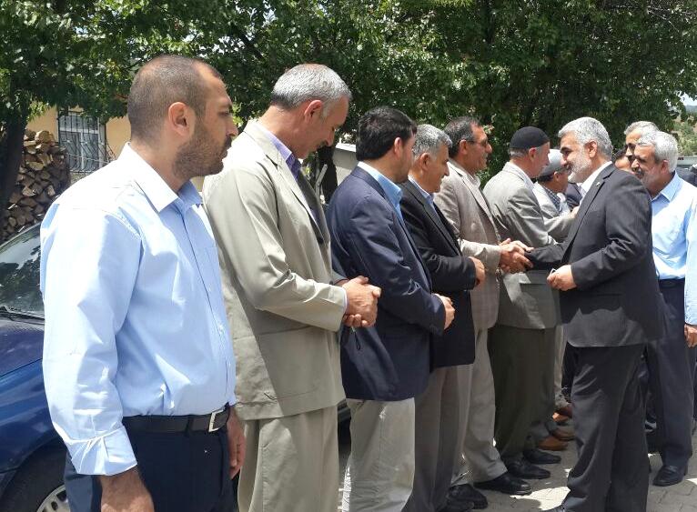 Hüda-Par Genel Başkanı Yapıcıoğlu'ndan Solhan'a Ziyaret