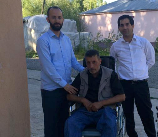 İHH'dan Engelli Vatandaşa Tekerlekli Sandalye