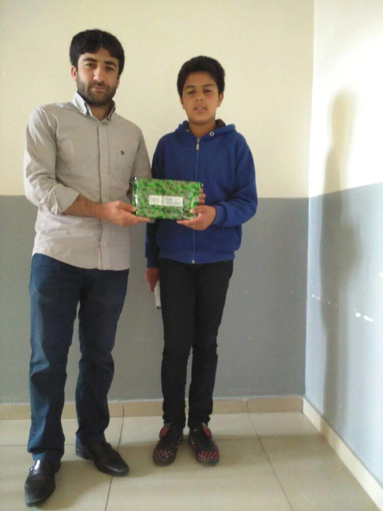 İHH'dan Karne Ödülü