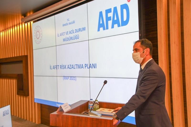 İl Afet Risk Azaltma Planı (İRAP) Bilgilendirme Toplantısı Yapıldı