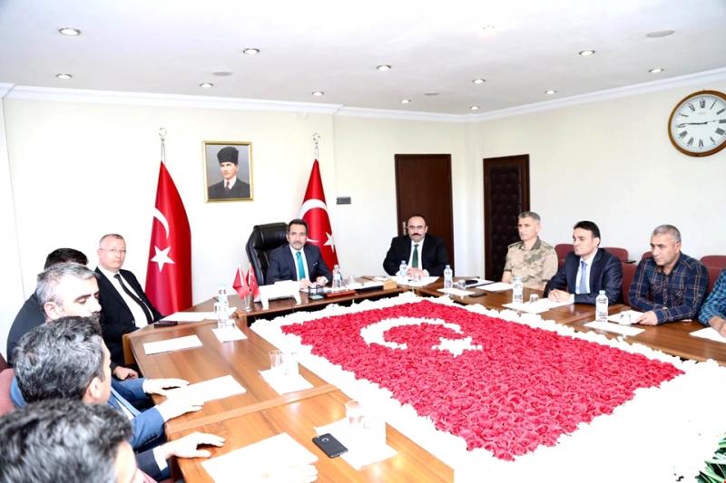 'İl Spor Güvenlik Kurulu Toplantısı' Yapıldı