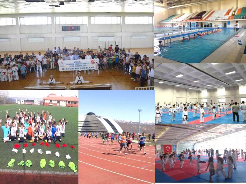 İl Spor Merkezleri Açıldı
