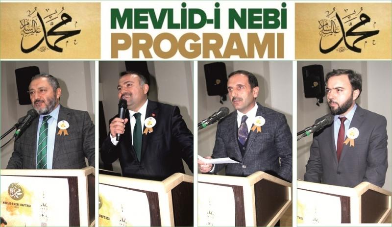 İlçe Müftülüğü'nden Mevlid-i Nebi Programı