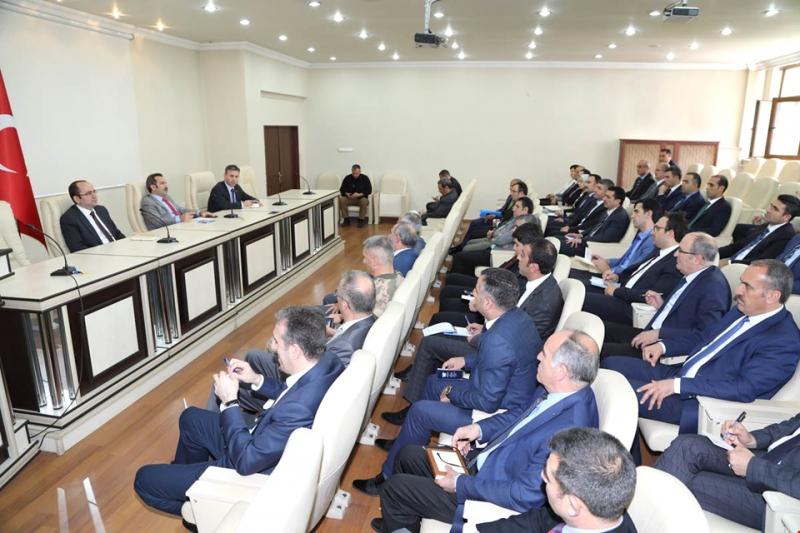 'İşbirliği ve Koordinasyon Toplantısı' Yapıldı
