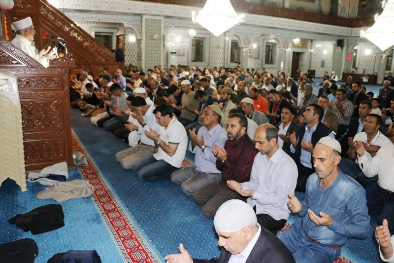 İslam Ümmeti ve Mazlumlar için Dua Programı Yapıldı