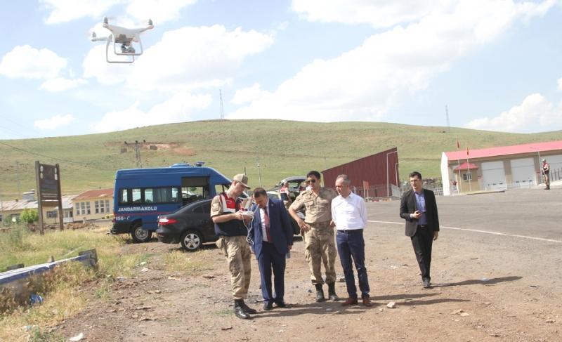Jandarma ve Emniyetten, Drone Destekli Denetim