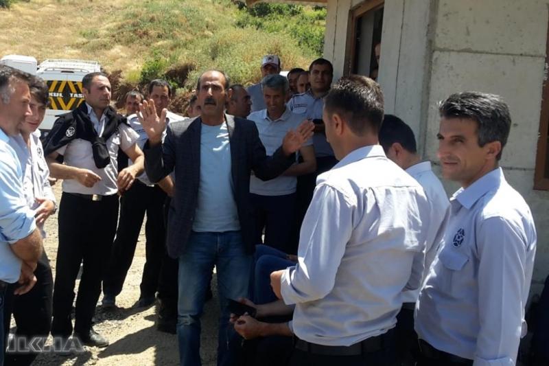 Kalehan Barajında 35 güvenlik görevlisi işten çıkarıldı