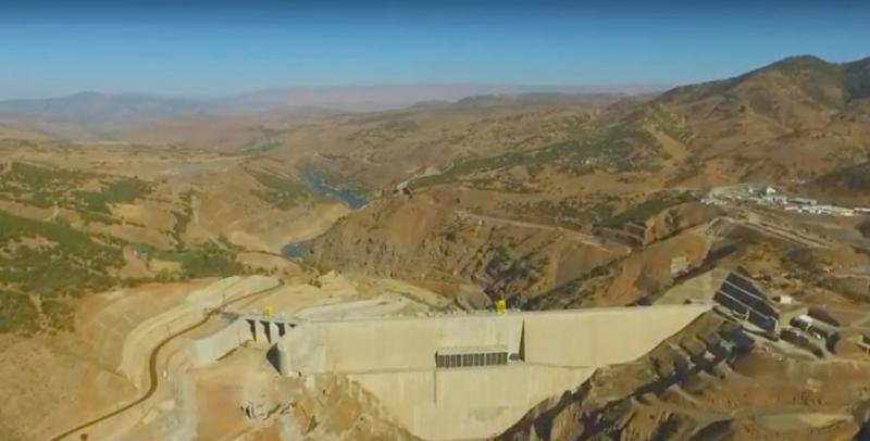 Kaleköy Barajı'nda Su Tutulmaya Başlanıyor