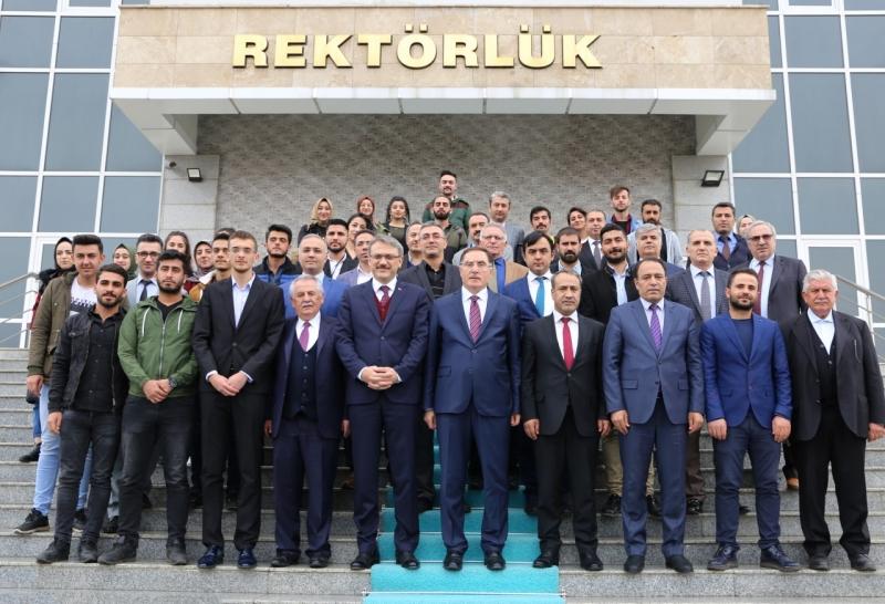 Kamu Başdenetçisi Malkoç, Bingöl Ünivesitesi'nde