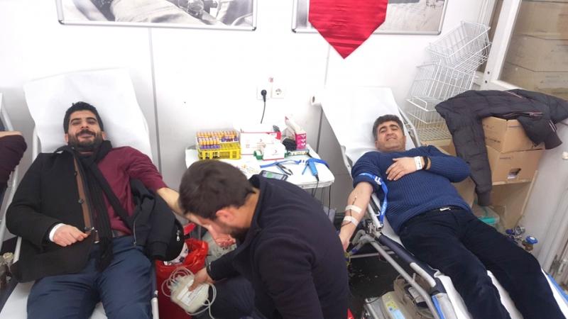 Kan Bağışında 167 Ünite Kan Toplandı