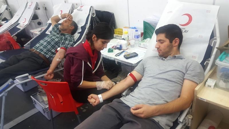 Kan Bağışında 200 Ünite Kan Toplandı