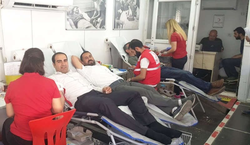 Kan Bağışında 220 Ünite Kan Toplandı