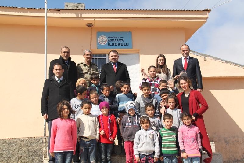 Kaymakam Okumuş'tan Köy Okullarına Ziyaret