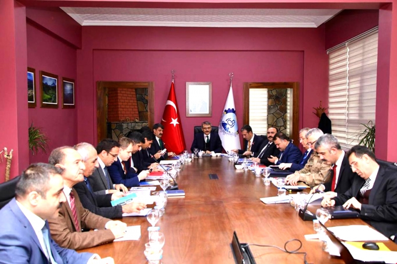 Kış Tedbirleri Koordinasyon Toplantısı Yapıldı