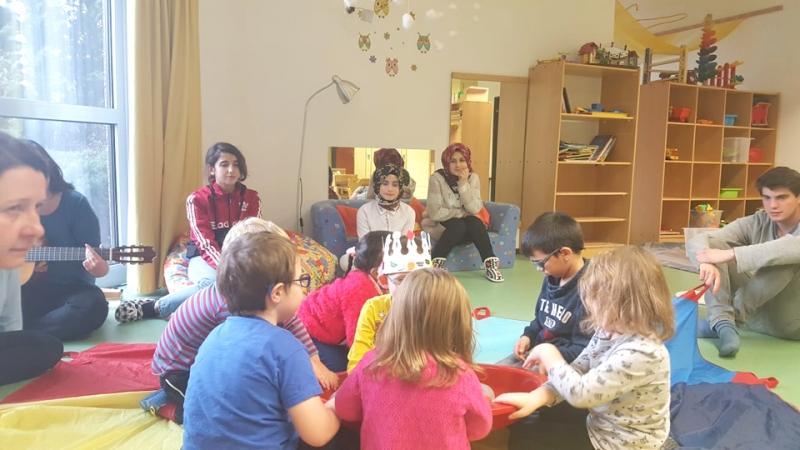 Kız Anadolu Öğrencileri Viyana'ya Gitti