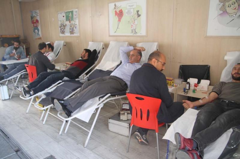 Kızılay'a 49 Ünite Kan Bağışı Yapıldı