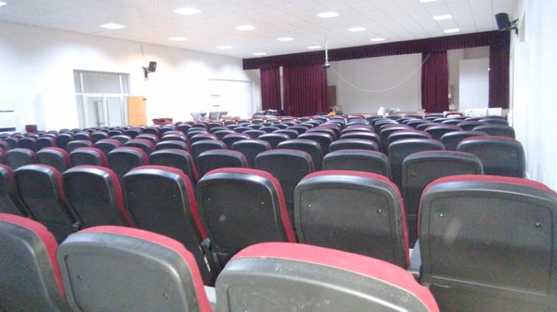Konferans Salonunun Tadilatı Bitti