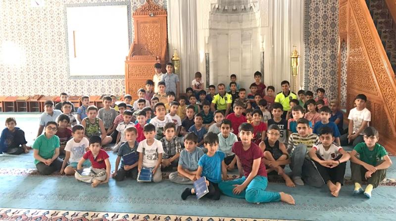 Kur'an Kursu Öğrencileri, Trafik Eğitimi Aldı