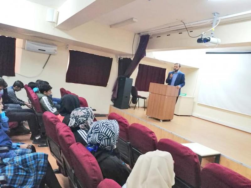 Lise Öğrencileriyle Ramazan Sohbeti