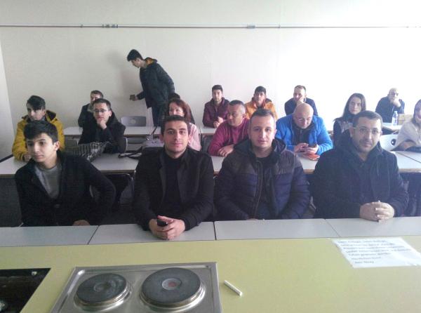 Meslek Lisesi, Erasmus + Projesine Katıldı