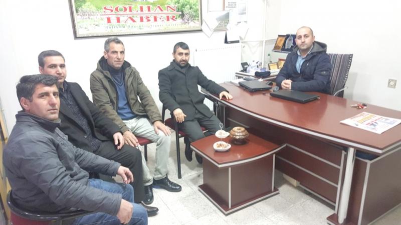 Mezra-Der'den Gazeteciler Günü Ziyareti