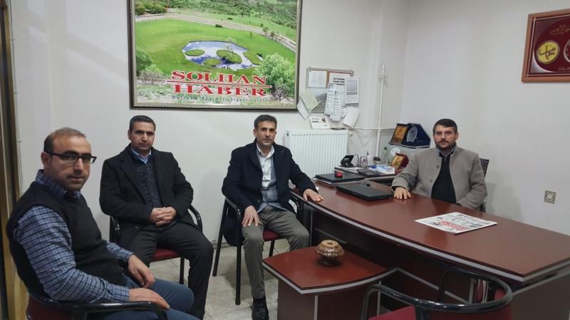 Mezra-Der'den Solhan Haber'e Ziyaret