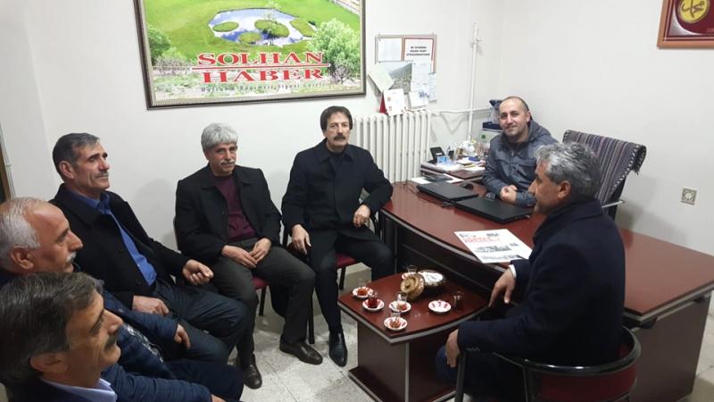 MHP Adayı Sönmez'den Gazetemize Ziyaret