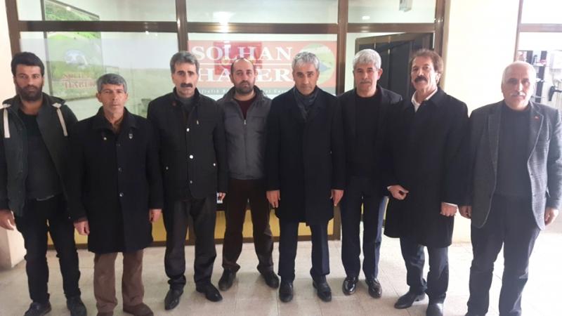 MHP'den Gazetemize Ziyaret