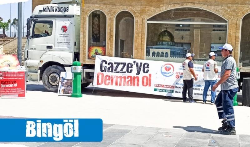 Minia Kudüs Tırı Bingöl'e Geliyor