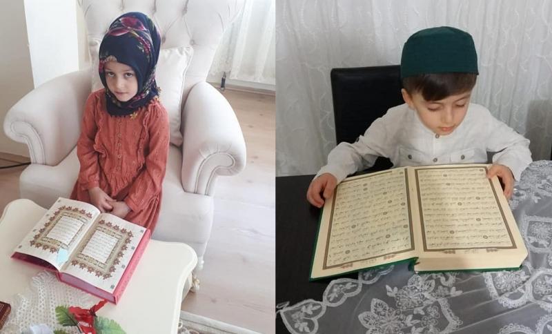 Minikler Uzaktan Eğitim ile Kur'an-ı Kerim Öğrendi