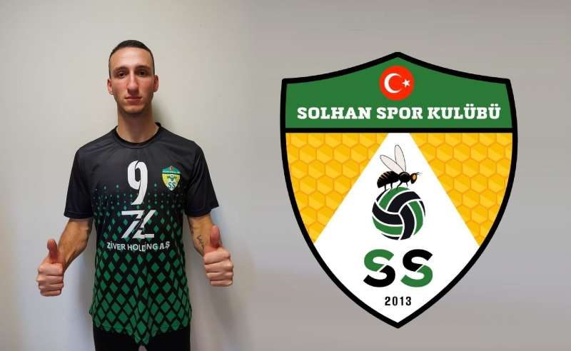 Muhammed Delibaş Yeniden Solhan Spor'da