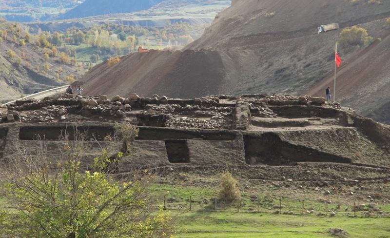 Murat Köyünde 3 Bin Yıllık Askeri Karargah