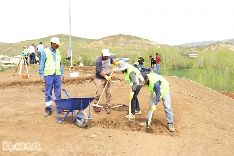 Murat Köyünde Arkeolojik Kazı Çalışmaları Başladı
