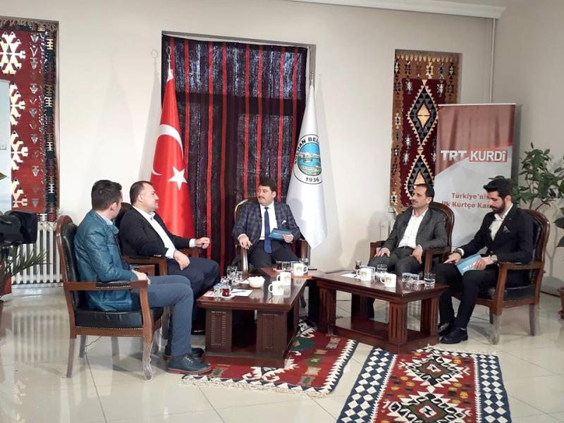 Okumuş ve Yıldız, TRT Kürdi'ye Konuk Oldu