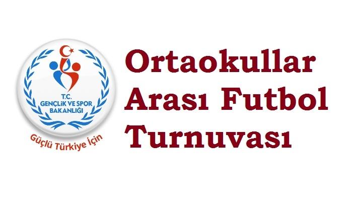 Ortaokullar Arası Futbol Turnuvası Bugün Başlıyor