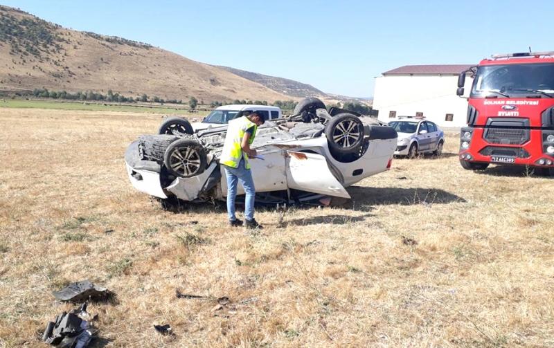 Otomobil Şarampole Yuvarlandı: Bir Ölü