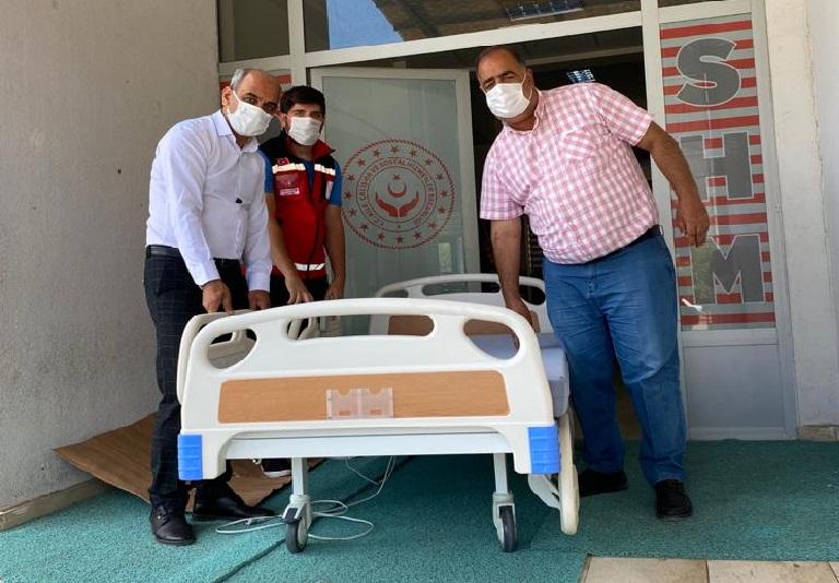 Özel Gereksinimli Hastaya Ortopedik Hasta Yatağı
