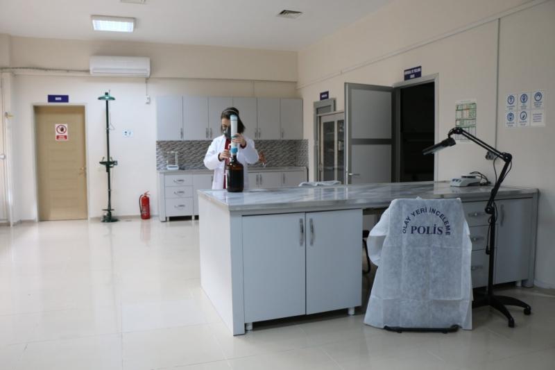 Parmak İzi Geliştirme Laboratuarı Faaliyete Başladı
