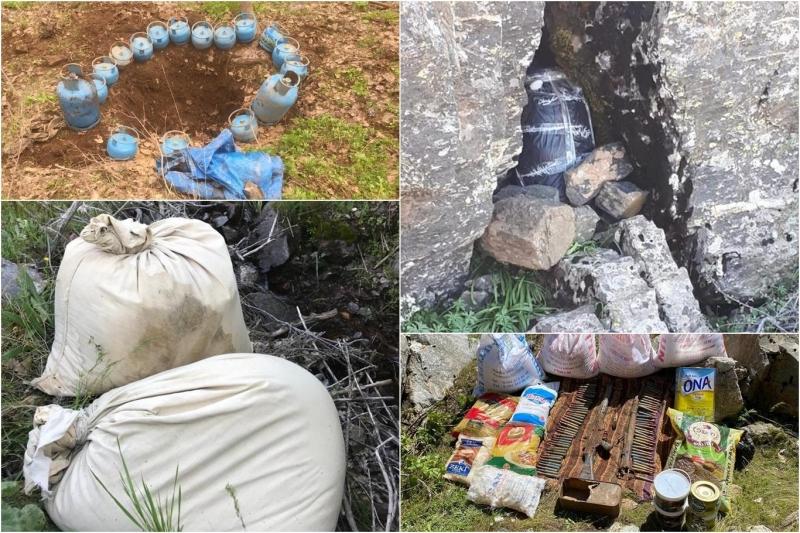 PKK Operasyonunda 8 Katlı Sığınak Tespit Edildi