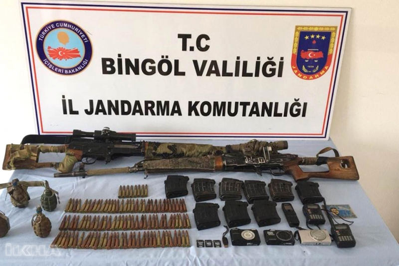 PKK'lılara Ait Sığınakta Mühimmat Ele Geçirildi