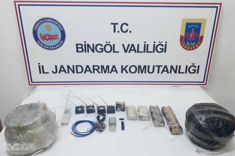 PKK'ya Ait Patlayıcı Maddeler Ele Geçirildi