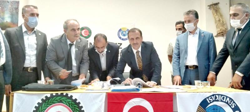 Solhan Belediyesi Toplu İş Sözleşmesi İmzaladı