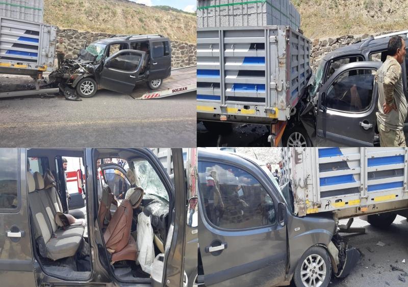 Solhan da Kaza: 4 Yaralı