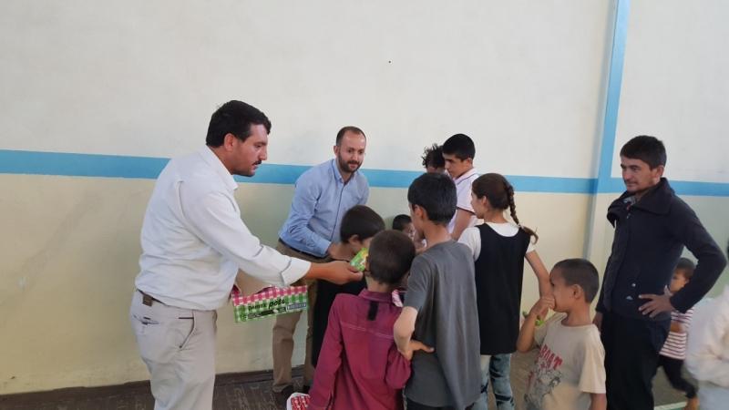 Solhan İHH'dan Mültecilere Şefkat Eli