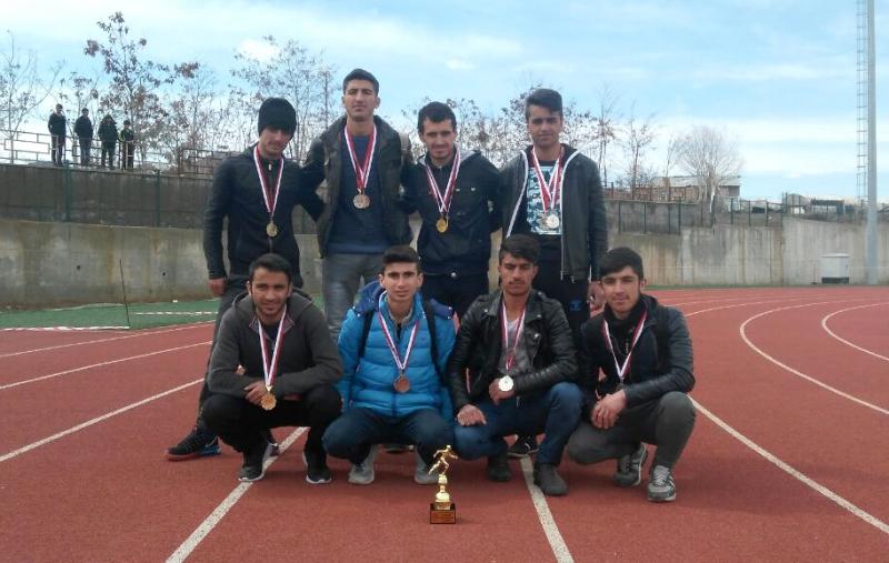 Solhan Okulları, Atletizmde Geçit Vermedi